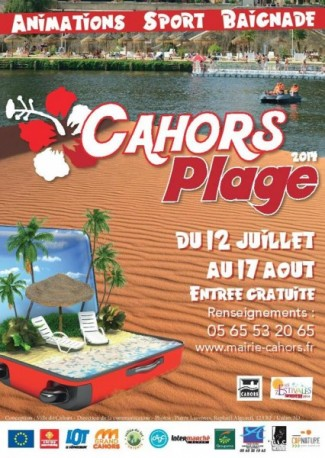 Cahors plage